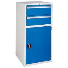 600 XL Euroslide 2 Drawer Cabinet - Blue