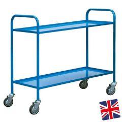 UK Manufactured 2 Shelf Trolley