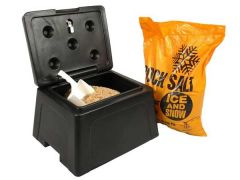 30 Litre Mini Grit Bin with Salt and Scoop
