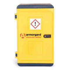 Plastic Hazardous Storage Cabinets - H910 x W575 x D440 - Closed