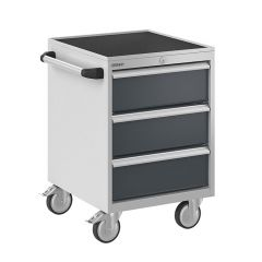 Bisley ToolStor Mobile Drawer Cabinet, 750 x 500mm, 3 Drawer