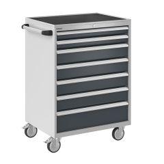 Bisley ToolStor Mobile Drawer Cabinet, 1050 x 750mm, 7 Drawer
