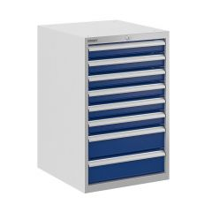 Bisley ToolStor Drawer Cabinet, 775 x 500mm, 8 Drawer
