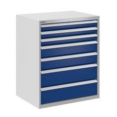 Bisley ToolStor Drawer Cabinet, 900 x 750mm, 78kg