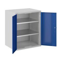 ToolStor W750 x D550mm 2 Shelf Cupboards - Blue Doors