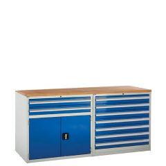System Tek - Blue Double Cabinet Kit E