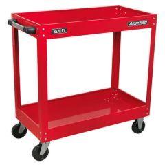 Sealey Heavy Duty 2 Shelf Workshop Trolley