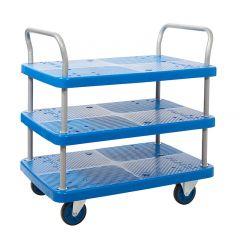 Platform Shelf Trolley, 3 Tier