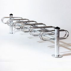12 Bike Double Sided Cycle Rack