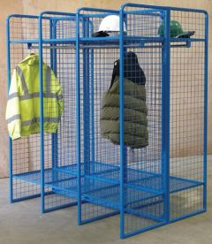 Wire Mesh Locker - Double Sided