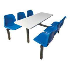 6 Seater Canteen Unit - Dual Entry