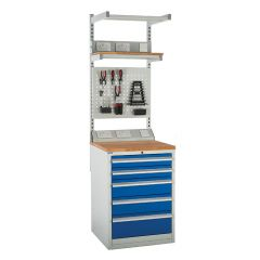 600 System Tek - Single Cabinet Kit A with Accessories