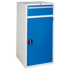 600 XL Euroslide 1 Drawer Cabinet - Blue