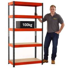 TUFF Shelving - 100kg UDL - In Use