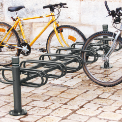 6 Space Double Bike Rack - City Style