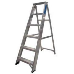 6 Tread Swing Back Aluminium Step Ladder