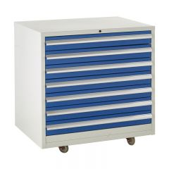 900 Euroslide Mobile Cabinets - 7 Drawers.