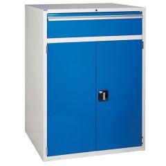 900 XL Euroslide 1 Drawer Cabinet - Blue