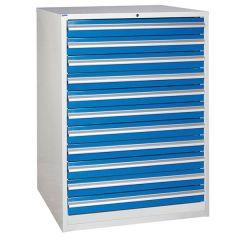 900 XL Euroslide 11 Drawer Cabinet - Blue