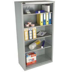 Open Front Cupboard - Silver