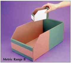 Economical Storage Solutions - Metric Range A