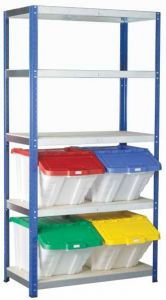 Ecorax Multi Functional Container Shelving Kits