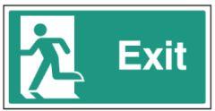 Final Exit - left symbol
