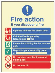 Fire Action - Auto Dial with Lift