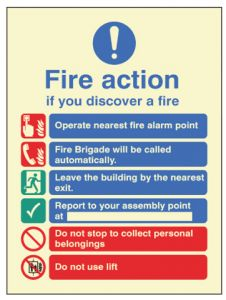 Fire Action - Manual with Lift