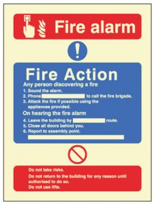 Fire Action call point with lift