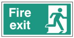 Fire Exit - right symbol