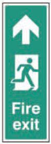 Fire exit up (portrait)