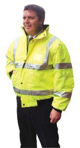 Hi Visibility Bomer Jacket
