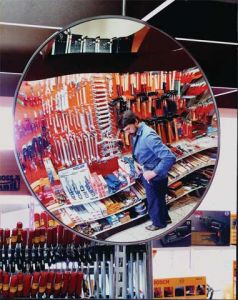 Internal Circular Security Mirror