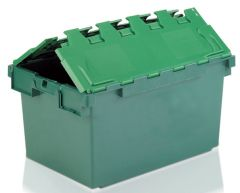 Large Attached Lid Containers