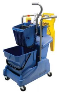 Single Mop Mopping Trolley