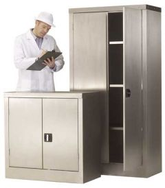Stainless Steel Storage Cupboards