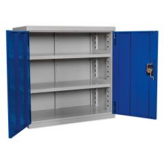 Sealey Industrial Cabinet - 2 Shelves, W900mm