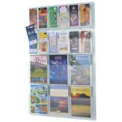 Wall Mounted Clear Brochure Dispensers