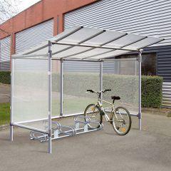Aluminium Cycle Shelter