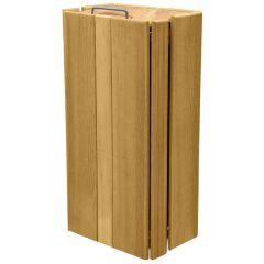 Avebury Rectangular Wooden Litter Bins - 100 Litre