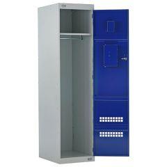 Police Airwaves & CS Cannister Holder Lockers - Blue