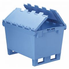 XL Containers with Interlocking Lids and Fork Entry Shoes