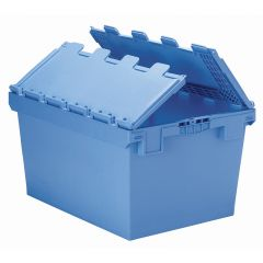 XL Containers with Hinged Interlocking Lid