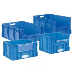 Pick Opening Euro Containers - 800x600mm
