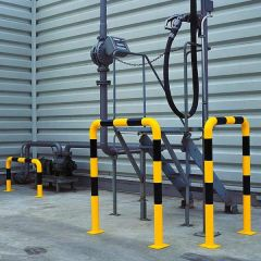 Heavy Duty Protection Guards- In Use