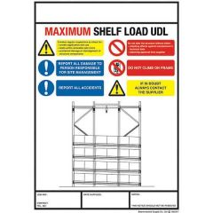 Pallet Racking Weight Load Notice