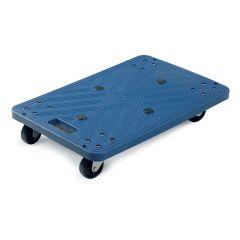 Blue Plastic Dolly 100kg