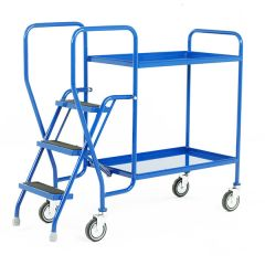 Blue Tray Trolley