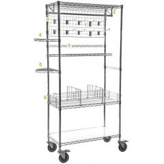 Chrome Wire Shelving Accessories